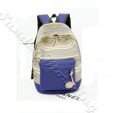 Голубой молодёжный рюкзак Blue Sky