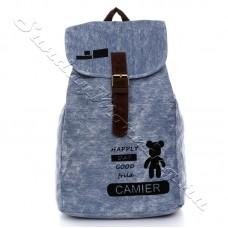 Джинсовый рюкзак мишка Taddy