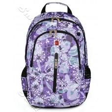 Спортивный женский рюкзак SwissGear-Сирень