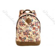 Повседневный рюкзак с Британским флагом - Collage and Cards