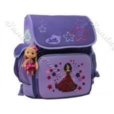 Школьный рюкзак для девочки DE LUNE сиреневый