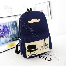 Молодёжный рюкзак с усами Mr.French