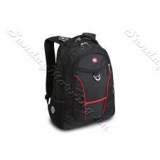 Туристический,дорожный рюкзак, черный/красный RAD (32 литра) от WENGER