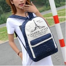 Модный рюкзак с башней NightParis